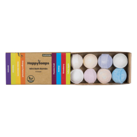 Mini Bath Bombs – Tropical Fruits 80 g | HappySoaps