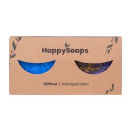 Happy Giftbox met 2 Shampoo Bars 2 x 70 gr | HappySoaps