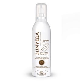 Sunveda Spray met Bruiningsactivator spf 20 150 ml | LakShmi