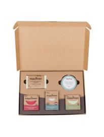Plasticvrije Verzorging Giftbox - Herbs & Spices Large | HappySoaps