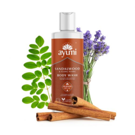 Sandelwood & Ylang Ylang Body Wash 250 ml | Ayumi
