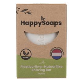Happy Shaving Bar - Kokos 80 gr | HappySoaps