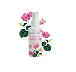 Acidic hair rinse with geranium rose 150 ml | MaterNatura