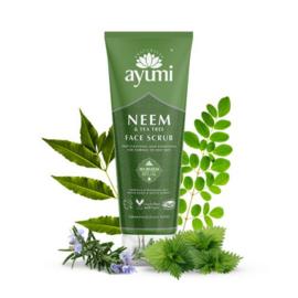 Neem & Tea Tree Face Scrub 125 ml   Ayumi
