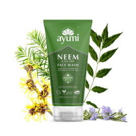 Neem & Tea Tree Face Wash 150 ml   Ayumi