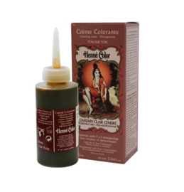 Henna Kleurcreme Askastanje (Chatain clair cendre) 90 ml   Henné Color