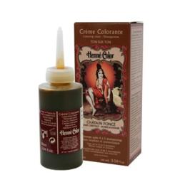 Henna Kleurcreme Donker Kastanje (Chatain fonce) 90 ml   Henné Color