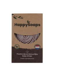 Body Oil Bar Sweet Sandalwood 70 g | HappySoaps