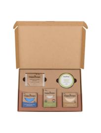 Plasticvrije Verzorging Giftbox - Tropical Sensation Large | HappySoaps