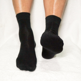 Gel Sok met Hielbescherming – Zwart | Pedisil
