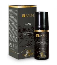 Anti-Age Energy Cream Met Sandelhout 50 ml - Men   LakShmi