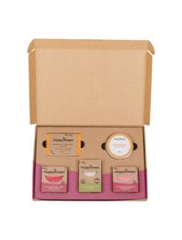 Plasticvrije Verzorging Giftbox - Fruity Passion Large | HappySoaps