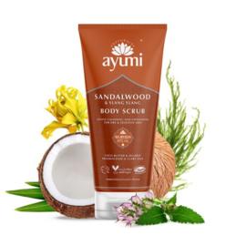 Sandelwood & Ylang Ylang Body Scrub 250 ml | Ayumi