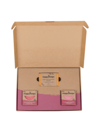 Plasticvrije Verzorging Giftbox - Fruity Passion Medium | HappySoaps