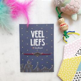 Veel liefs Sint & Piet (verpakt per 4)