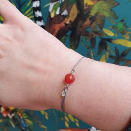 Armband met edelsteen Carneool