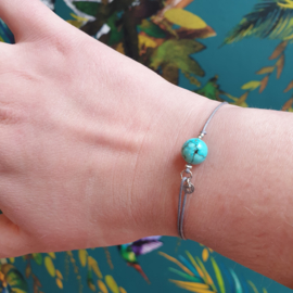 Armband met edelsteen Turkoois