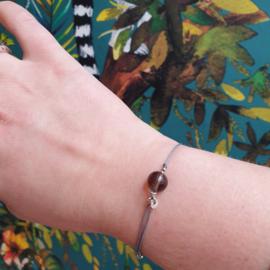 Armband met edelsteen Rookkwarts