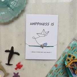 Happiness is (verpakt per 4)