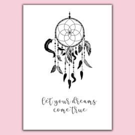 Poster A4 'Dreams'