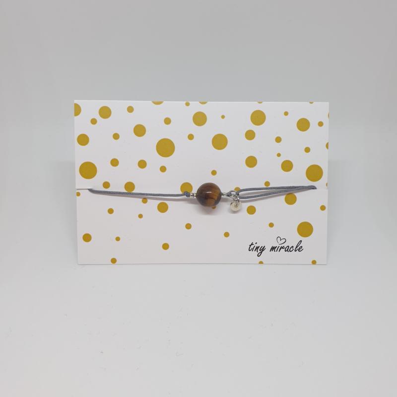 Armband met edelsteen Tijgeroog