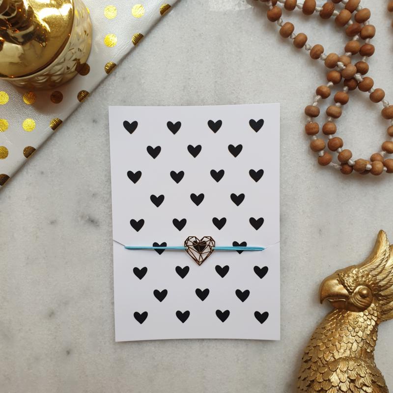 Armband Hearts (verpakt per 4)