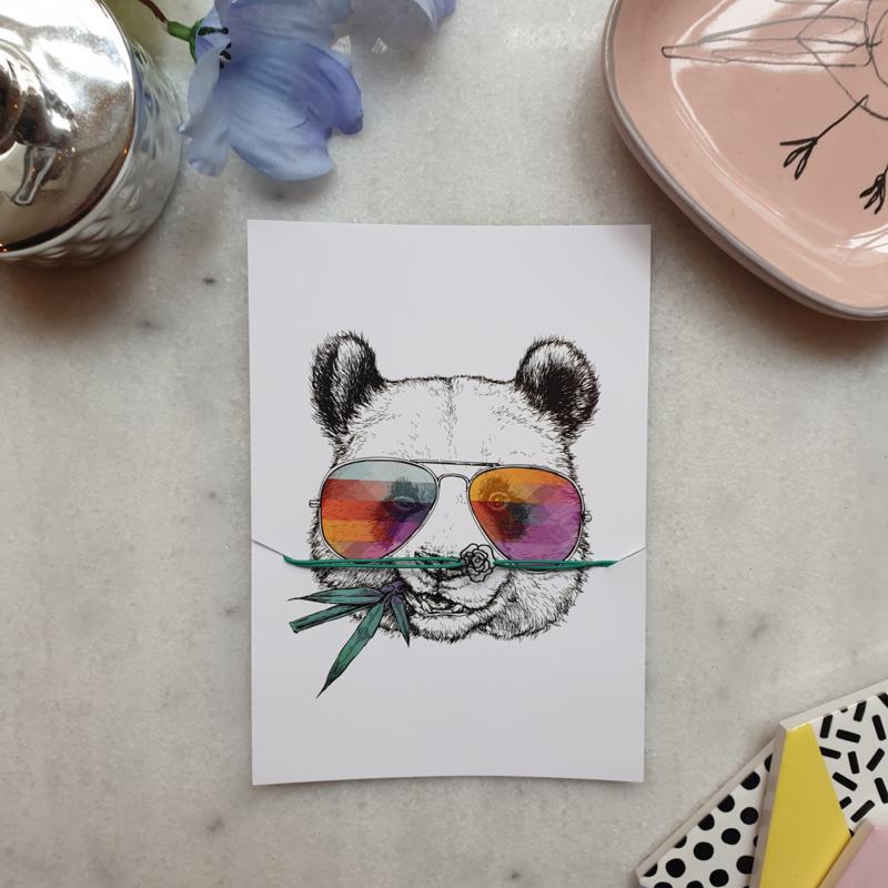 Armband Panda (verpakt per 4)