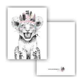Lieve leeuw ( PER 5 STUKS )