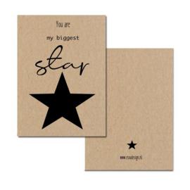 Star ... Kraftkarton ( PER 5 STUKS )