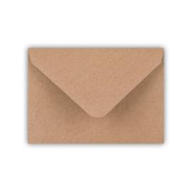 Envelop A7 formaat kraft ( PER 5 StUKS )