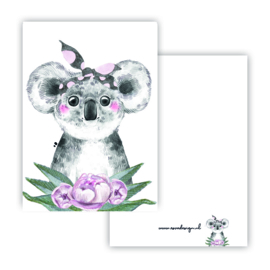 Lieve koala meisje ( PER 5 STUKS )
