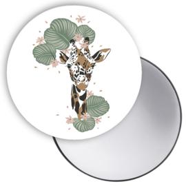 Spiegeltje Jungle giraffe hoofd ( PER STUK )