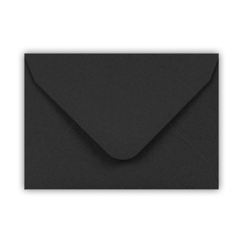 Envelop A6 formaat zwart ( PER 5 StUKS )
