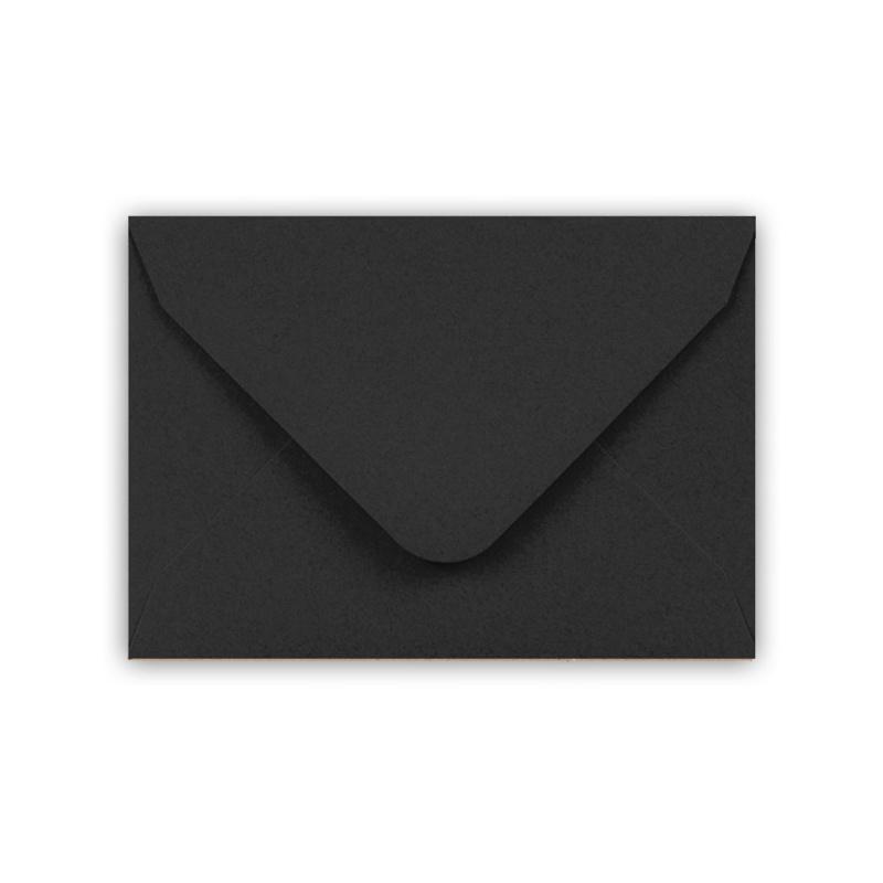 Envelop A7 formaat zwart ( PER 5 StUKS )