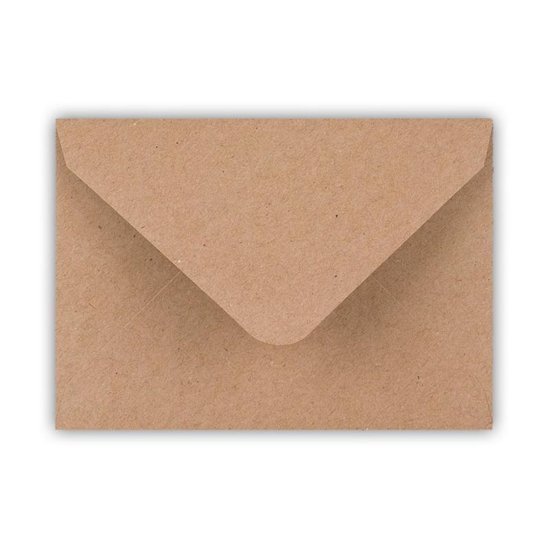 Envelop A6 formaat kraft ( PER 5 StUKS )