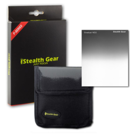 Square Filter Gradual Grey ND2, STEALTH GEAR