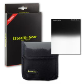 Square Filter Gradual Grey ND8, STEALTH GEAR