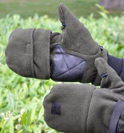 Ultimate Freedom Fleece Gloves Eagle, STEALTH GEAR