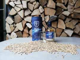 Bus Whisky Giftbox | Fles 20cl in koker met gegraveerd glas