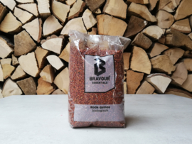 Biologische Quinoa Rood | zak 1 kg