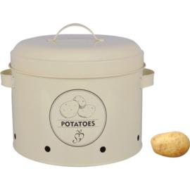 Aardappel bewaarblik