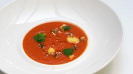 Paprikasoep | Recept voor 4 pers (40 min)