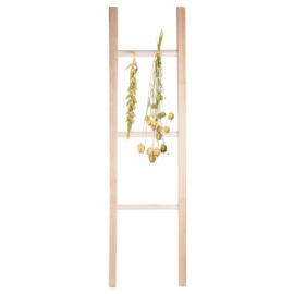 Bloemen en kruidendroogladder