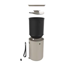 Bokashi Design keukenemmer vanille 9,6 liter