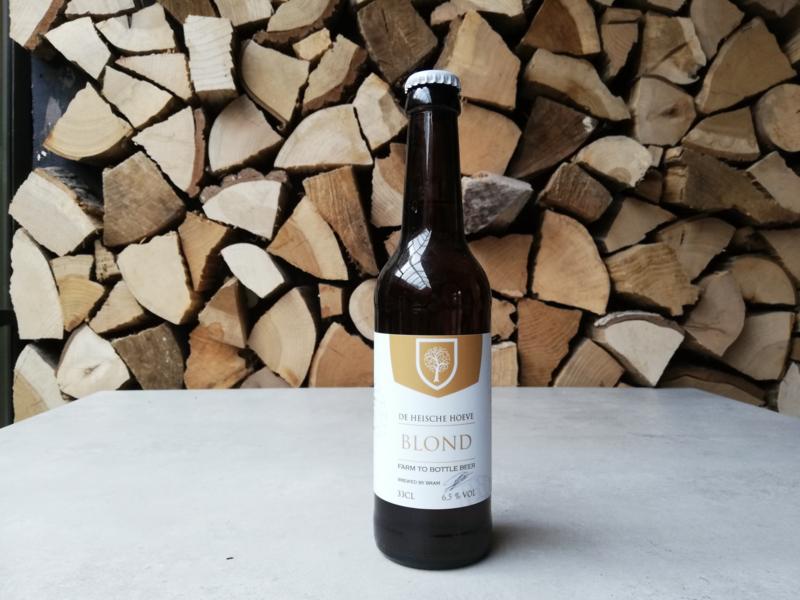 Heische Hoeve Blond bier  33cl