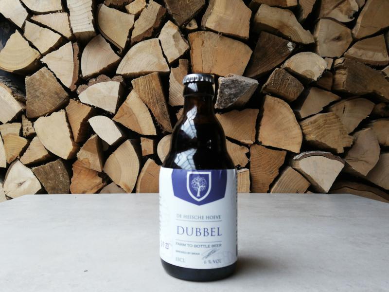 Heische Hoeve Dubbel bier    33 cl