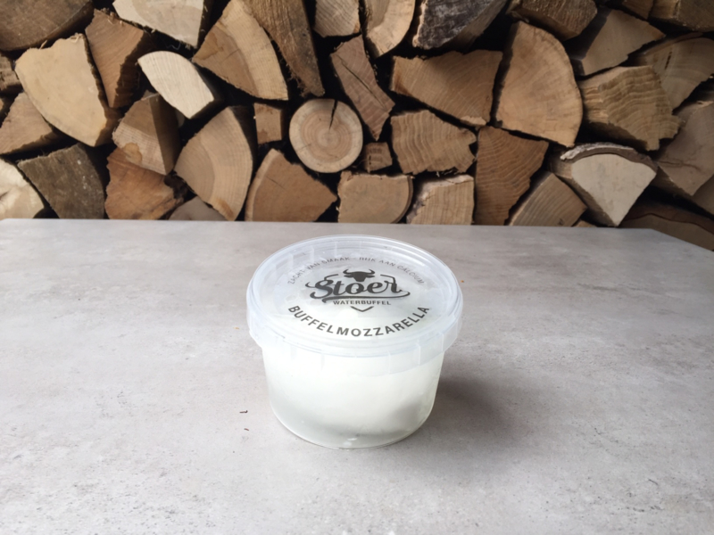 Buffelmozzarella   bol 125 gram