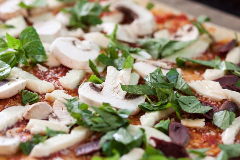 Vegan Pizza Box | 5 pizza's
