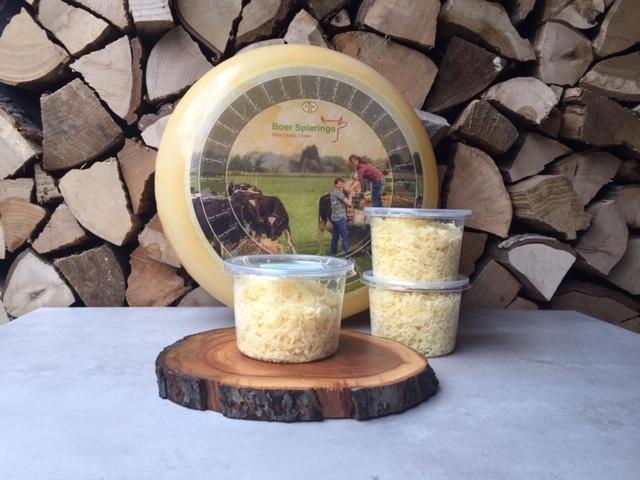 Boer Spierings Geraspte kaas | circa 150 gram