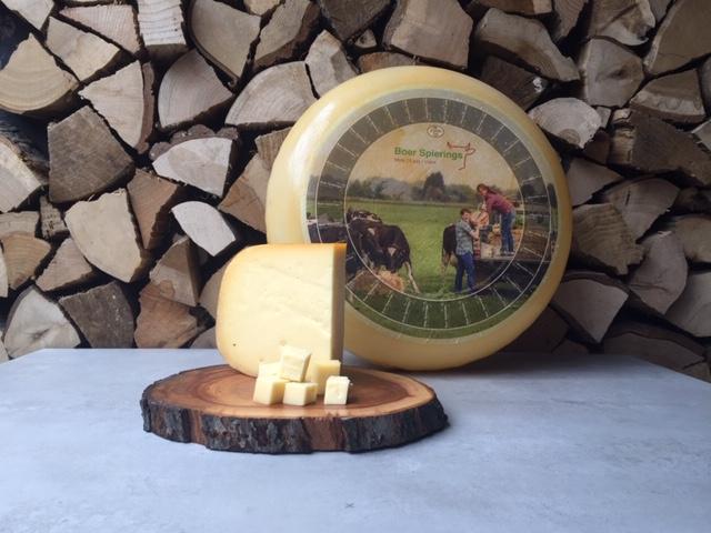 Boer Spierings Fenegriek Kaas   circa 250 gram